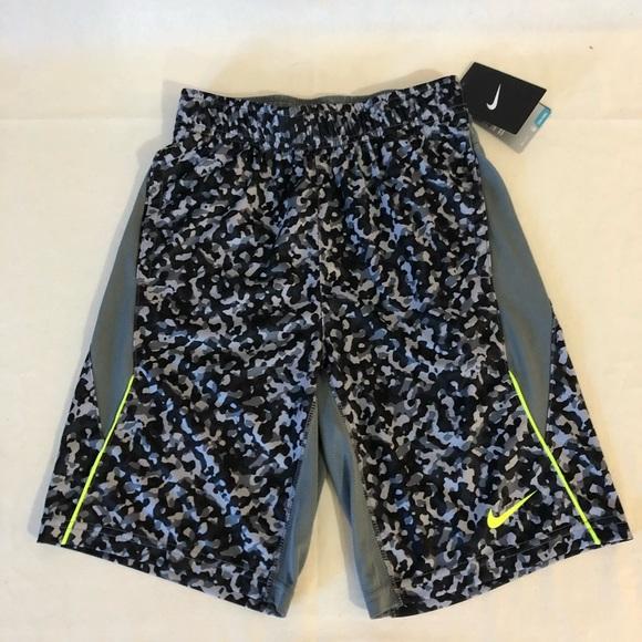 Nike Boys Black Pull-On Shorts